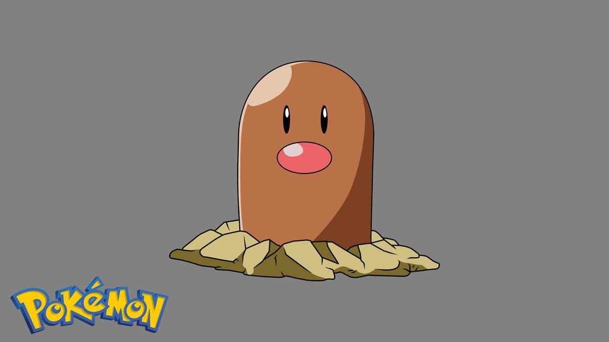 Pokemon – Diglett #1 by Gatnne on DeviantArt