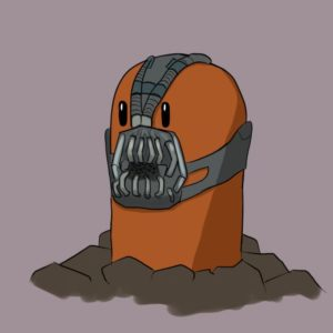 download Diglett with Bane mask by bubblesx99 on DeviantArt