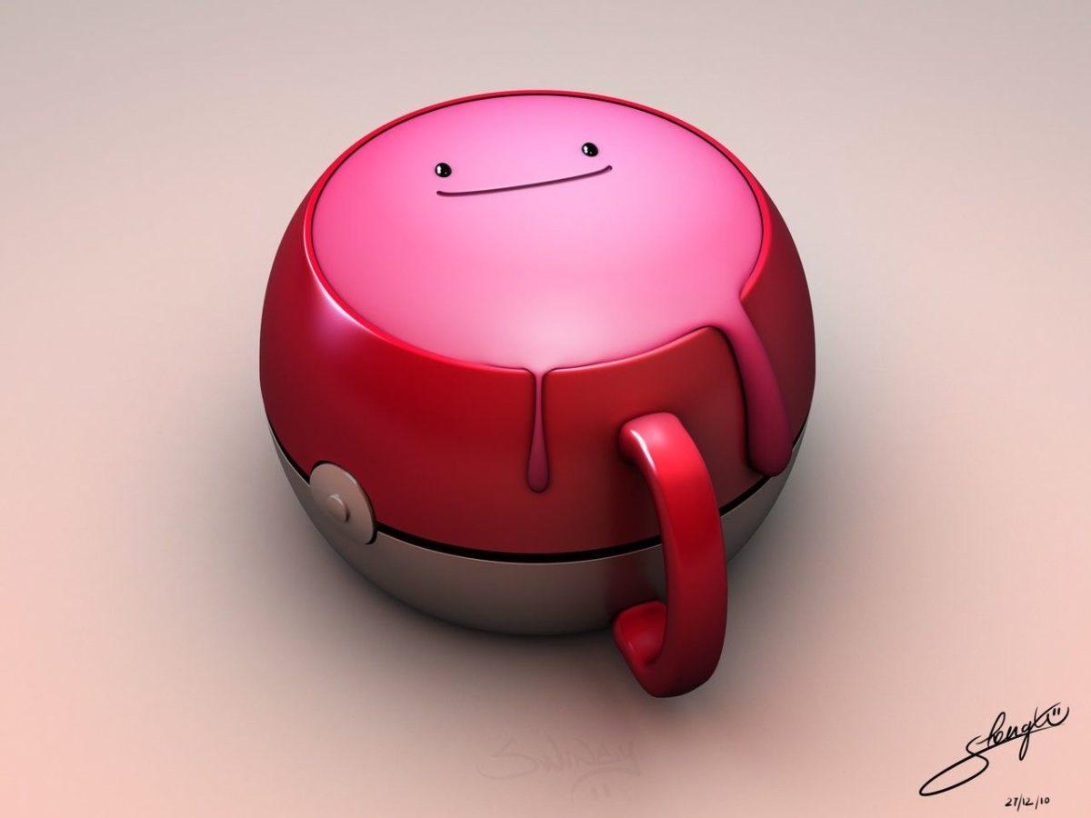 Wallpaper : ditto, cup, pokemon, 3D, cartoon 1280×960 – zlnnxhyz …
