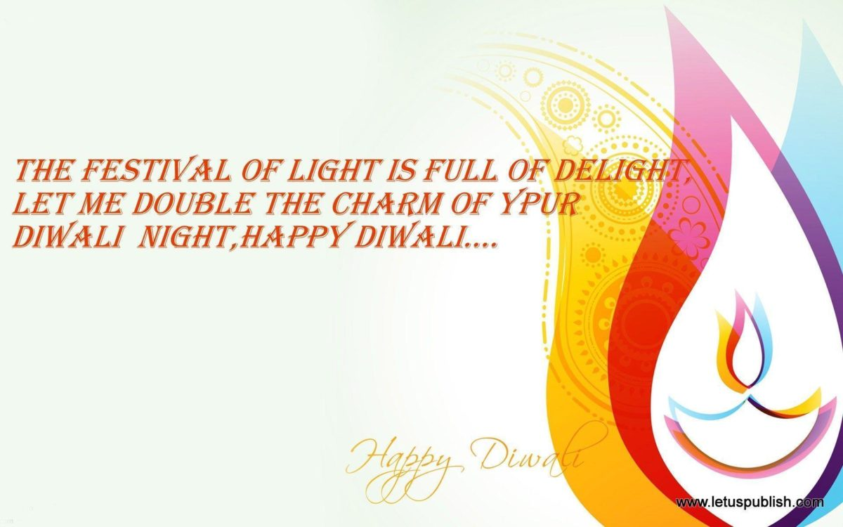 Happy Diwali Wallpapers with Sms & Quotes – Let Us Publish