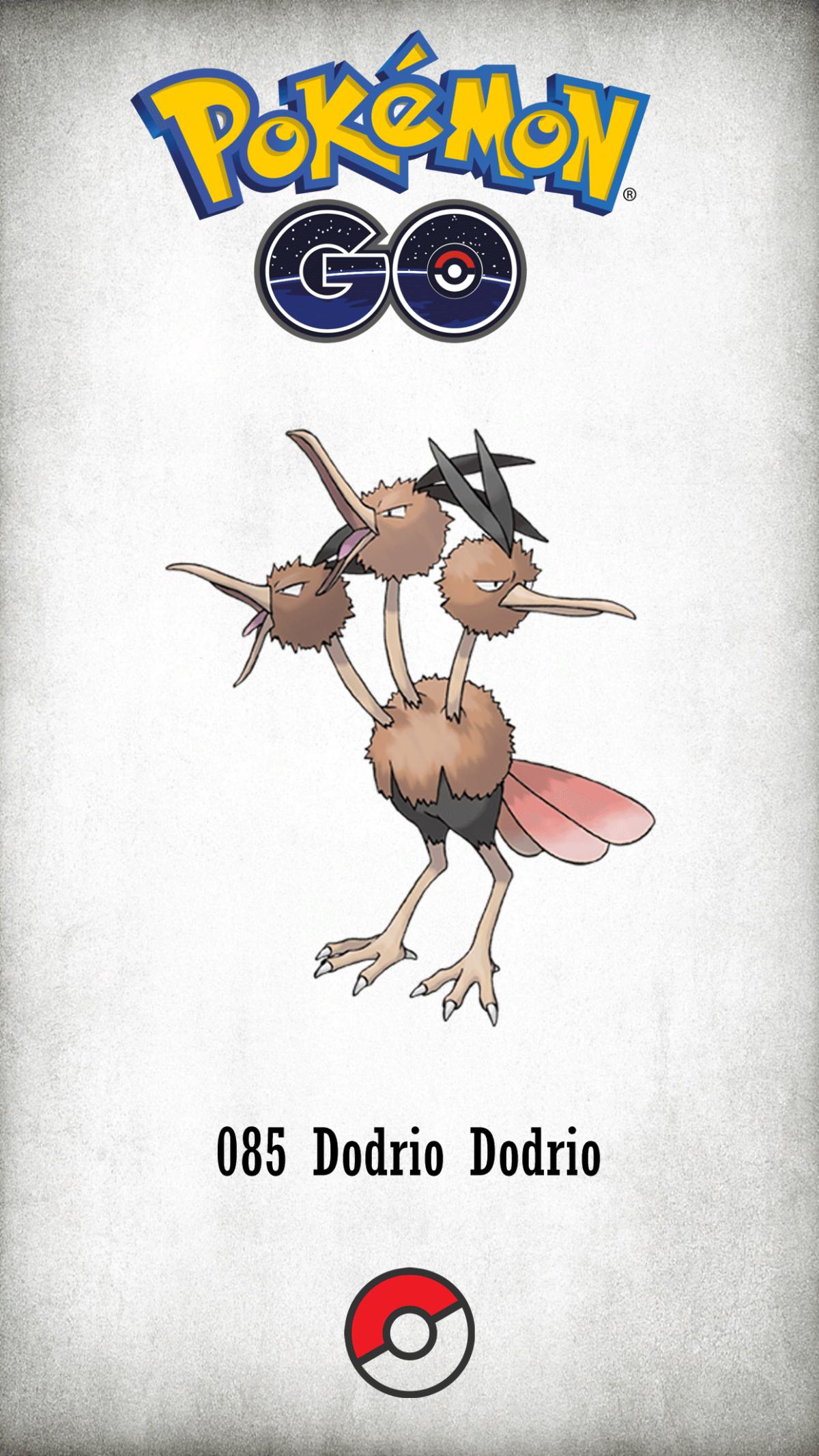 085 Character Dodrio Dodrio | Wallpaper