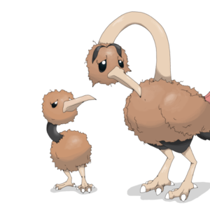 download Lonely Doduo and Dodrio by defno on DeviantArt
