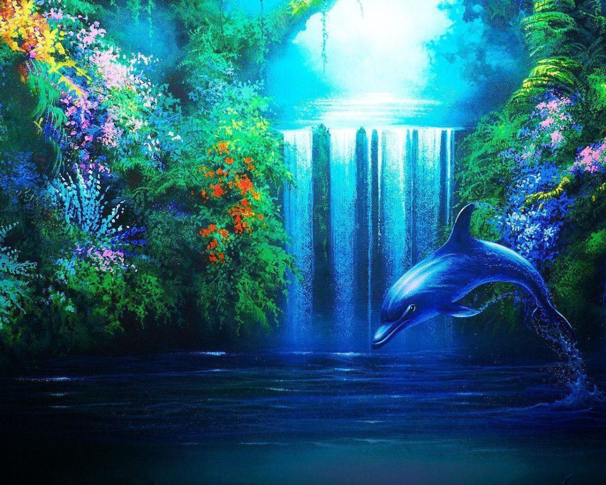 Animals For > Cute Dolphin Wallpapers