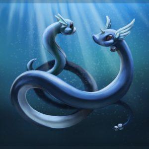 download Dratini and Dragonair by Mijeman on DeviantArt
