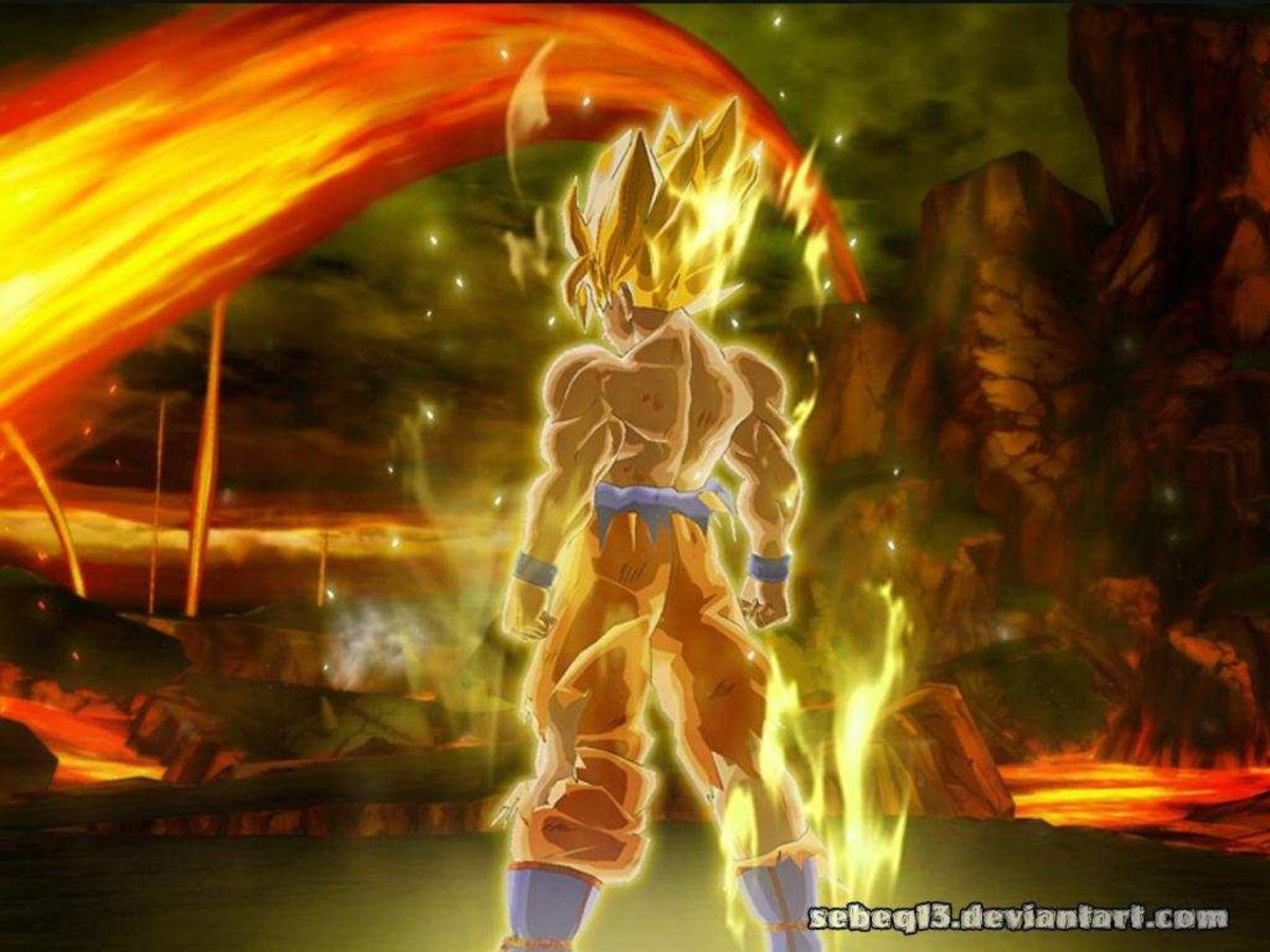 Dragon Ball Z 3d Wallpapers Download