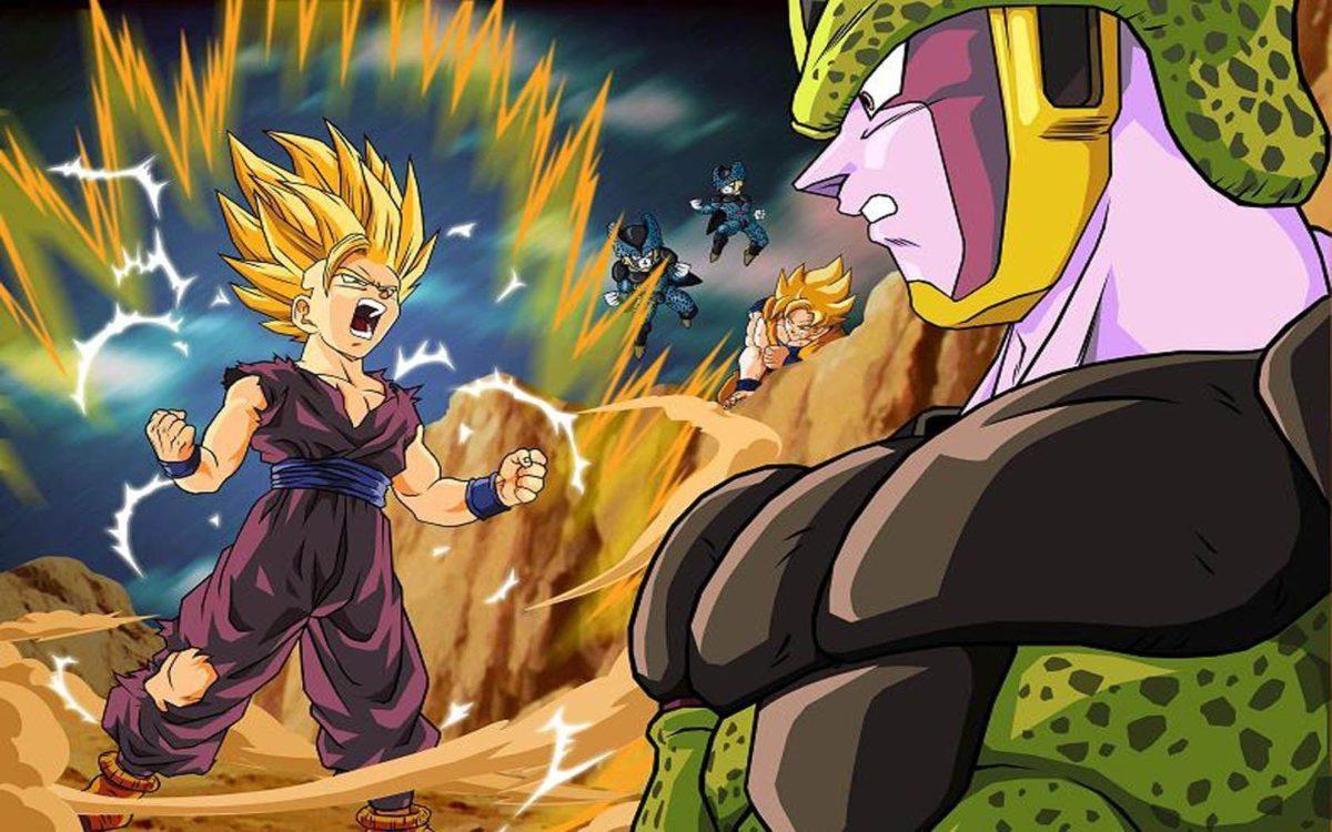 Download Cell Anime Son Gohan Dragon Ball Wallpaper | Full HD …