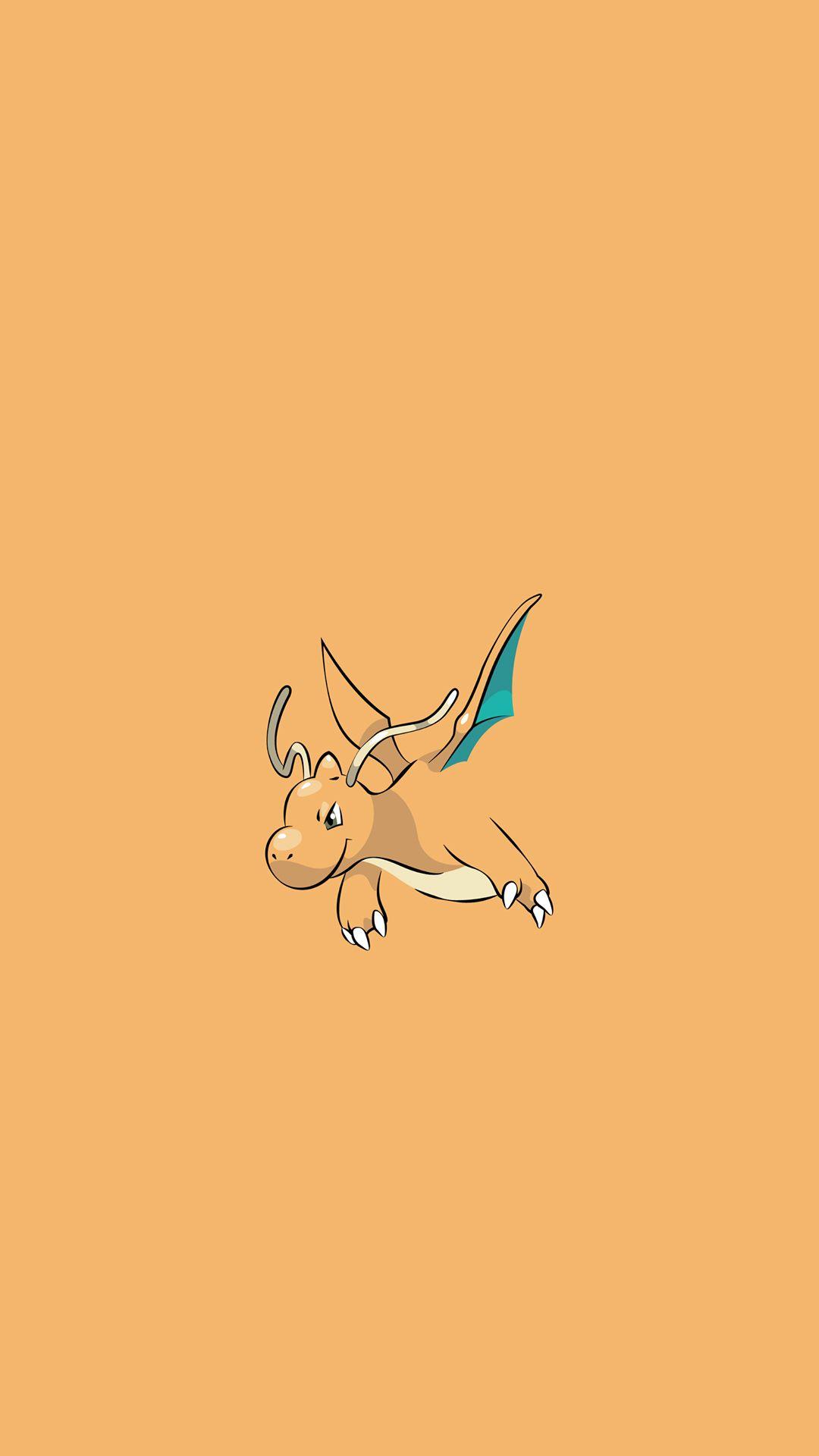 Dragonite Pokemon Character iPhone 6+ HD Wallpaper (1) – http …