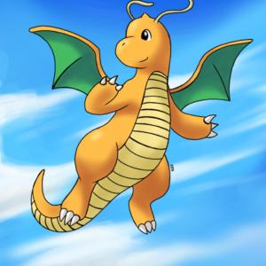 download Dragonite Flying by fozcat5 on DeviantArt