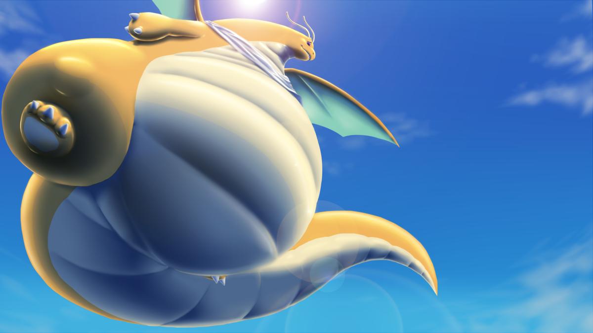 Pear Dragonite — Weasyl