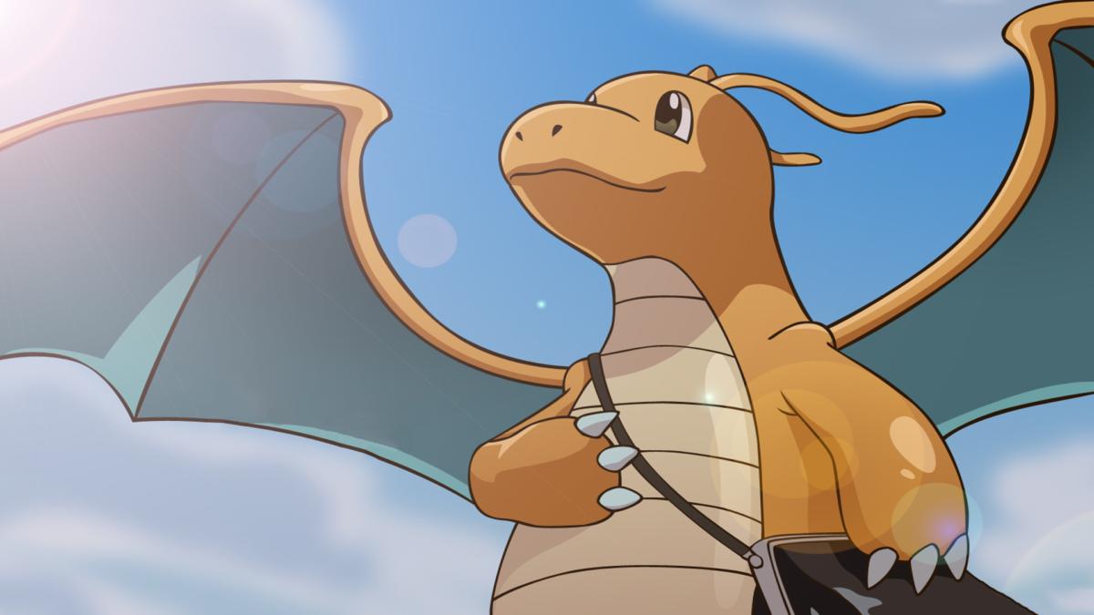 SimplyWallpapers.com: Dragonite Pokemon desktop bakcgrounds