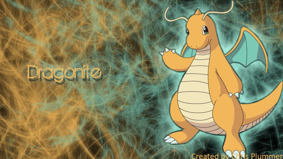Dragonite Wallpaper by ChrisGoesSoft on DeviantArt