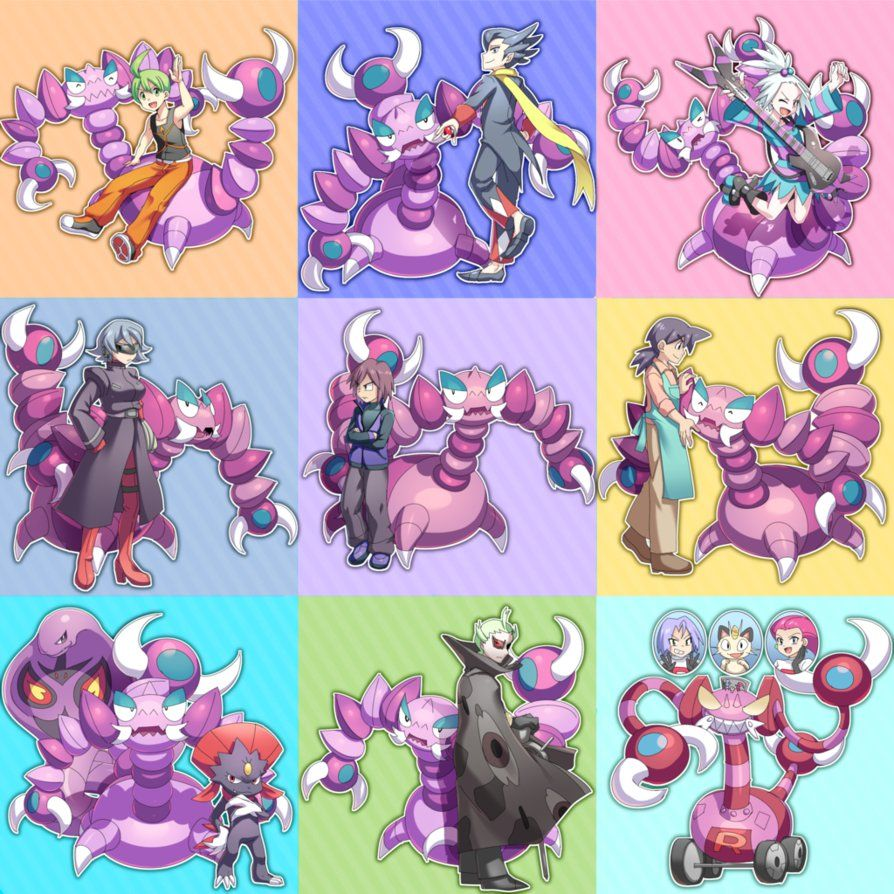 Drapion collection by tamaume on DeviantArt