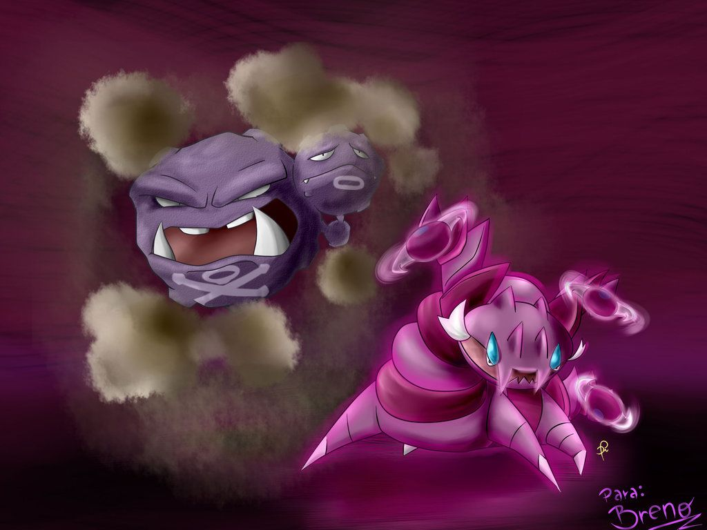 110 – Weezing and 452 – Drapion by diegoasilva on DeviantArt