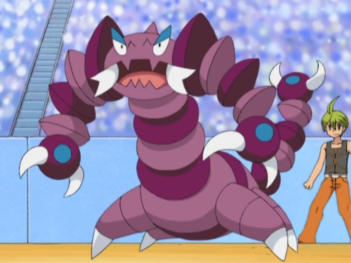 Image – Aaron Drapion anime.png | Pokémon Wiki | FANDOM powered by Wikia