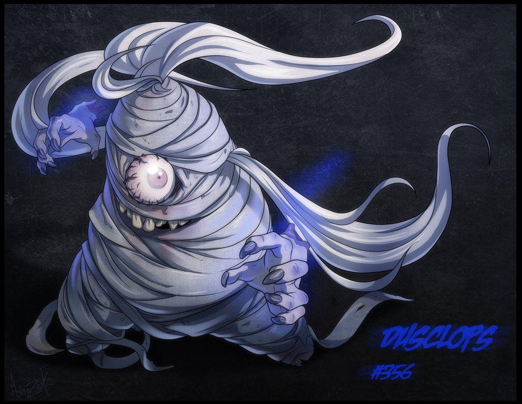 13 ghost of pokemon – DUSCLOPS by AstroZerk on DeviantArt