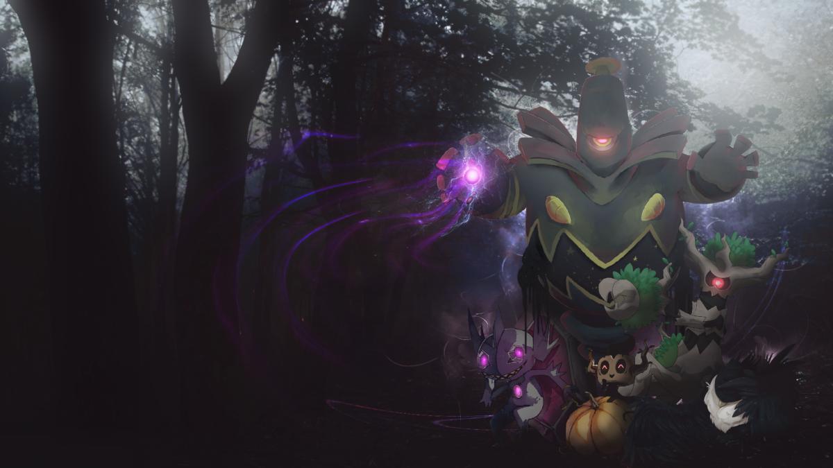 Spooky Pokemon Wallpaper by Insanely-Purple on DeviantArt