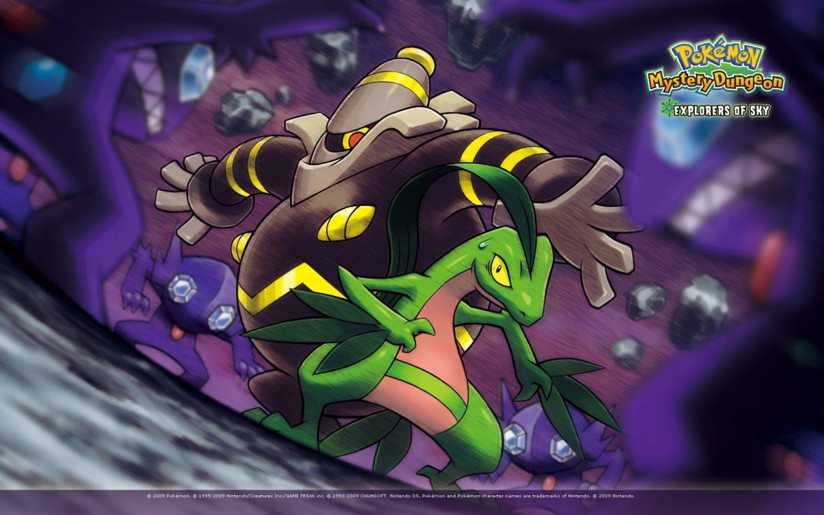 Grovyle and Dusknoir Surrounded – Pokémon Mystery Dungeon: Explorers …