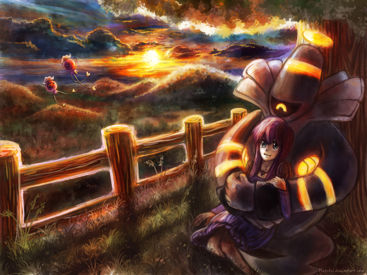 Commish – Hora and her Dusknoir by Haychel on DeviantArt
