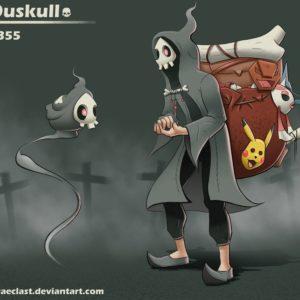 download Duskull Concept [Happy Mask Salesman Remix] by Wraeclast on DeviantArt