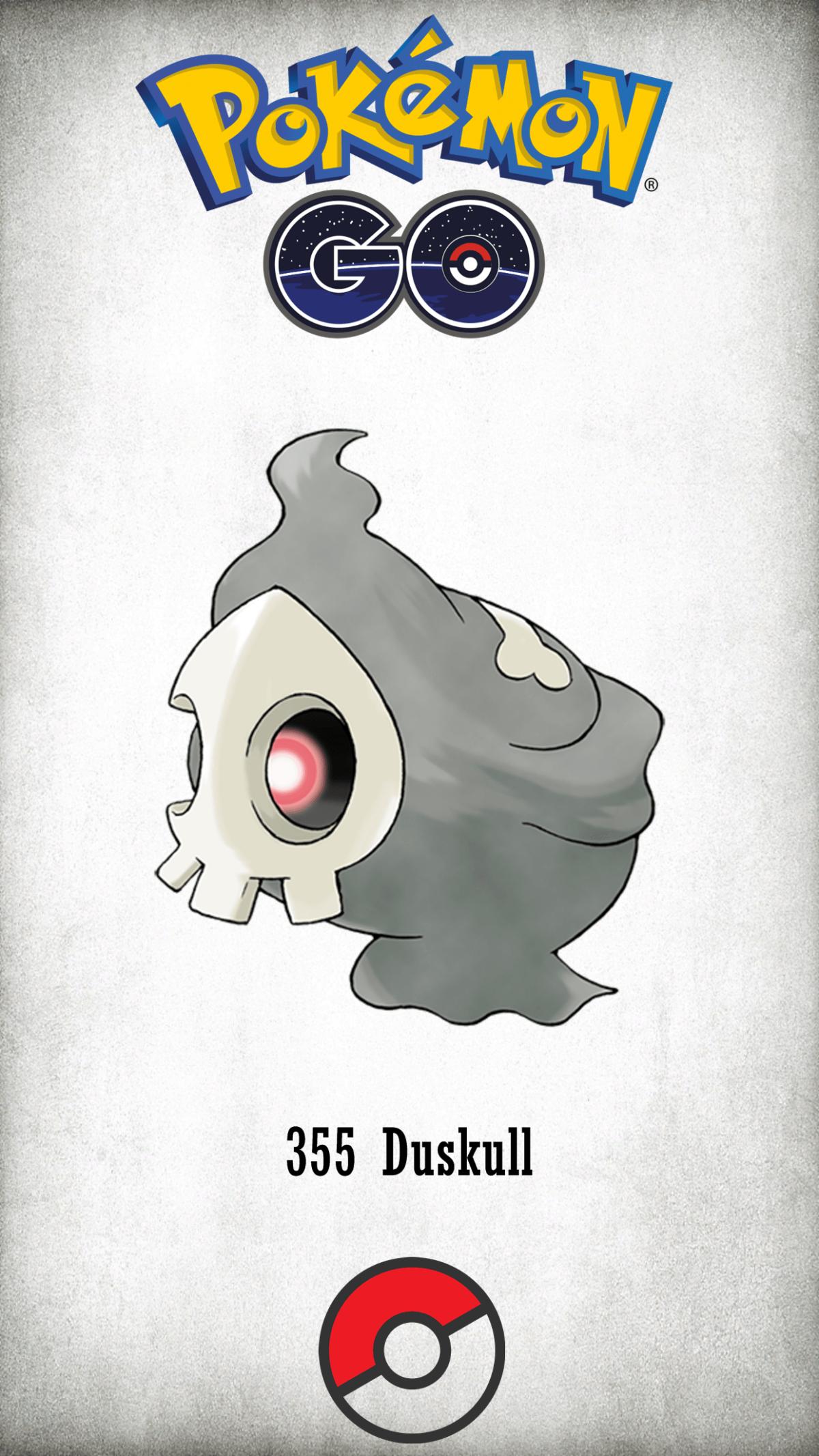 355 Character Duskull | Wallpaper