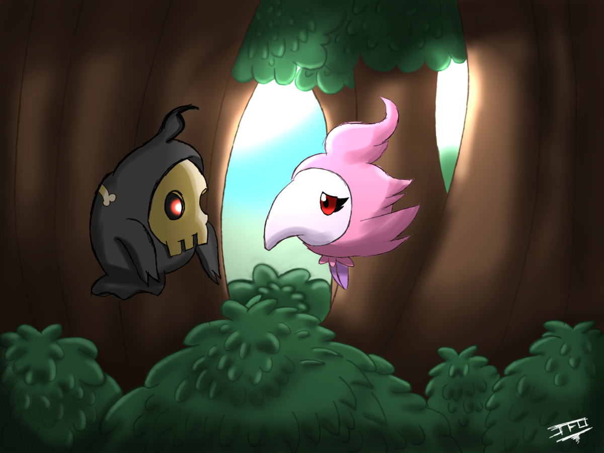 Pokemon Theory – Duskull and Spritzee by LordBlackTiger666 on DeviantArt