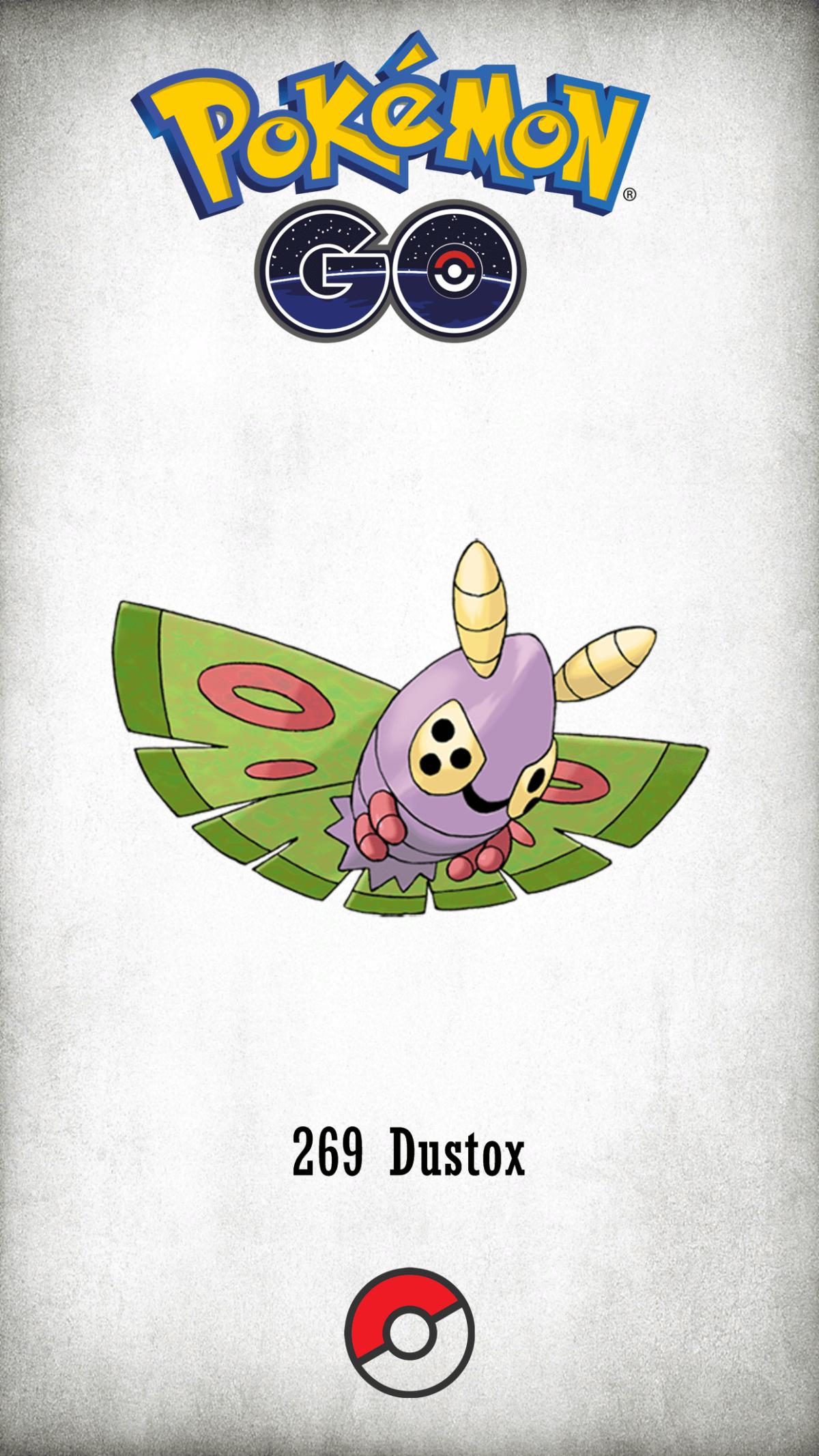 269 Character Dustox | Wallpaper