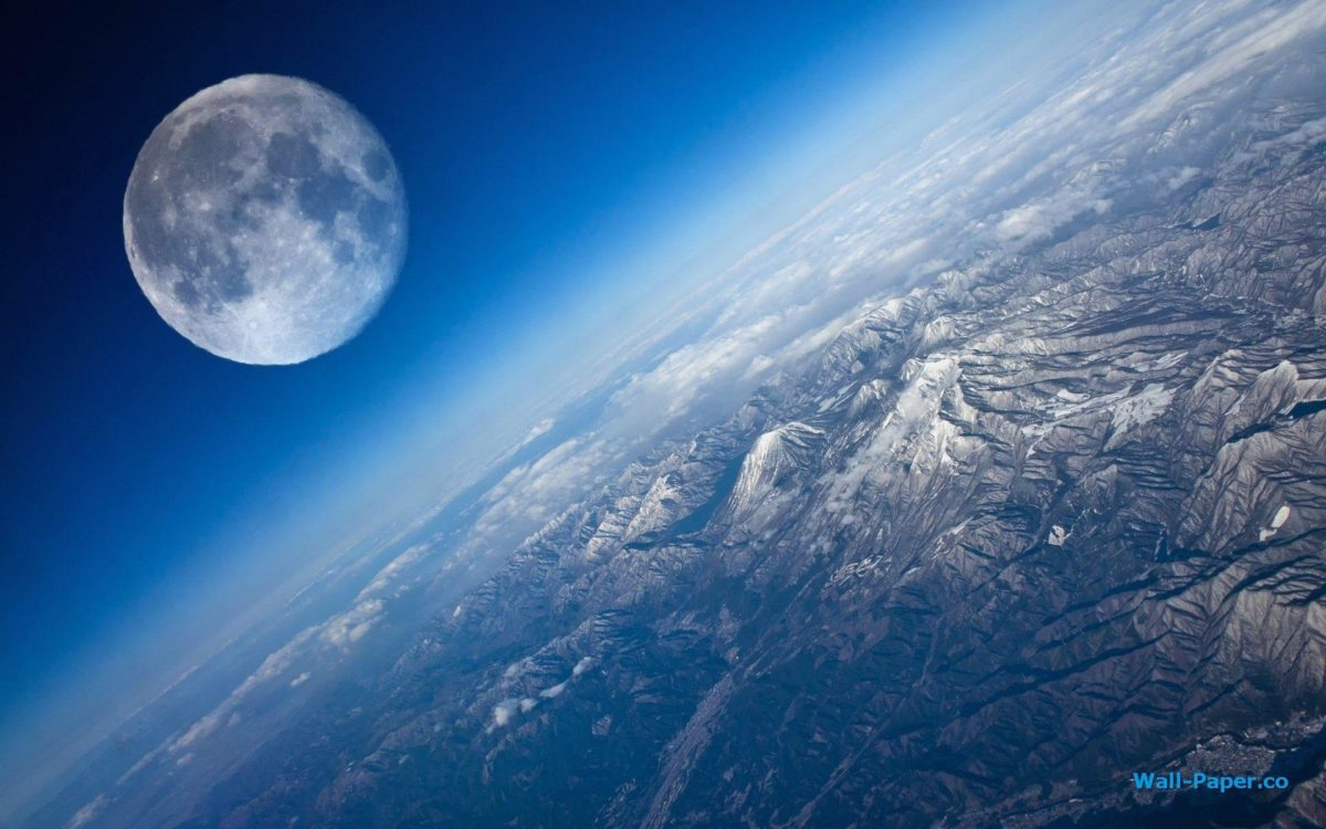 Wallpapers For > Earth From Moon Wallpaper Hd