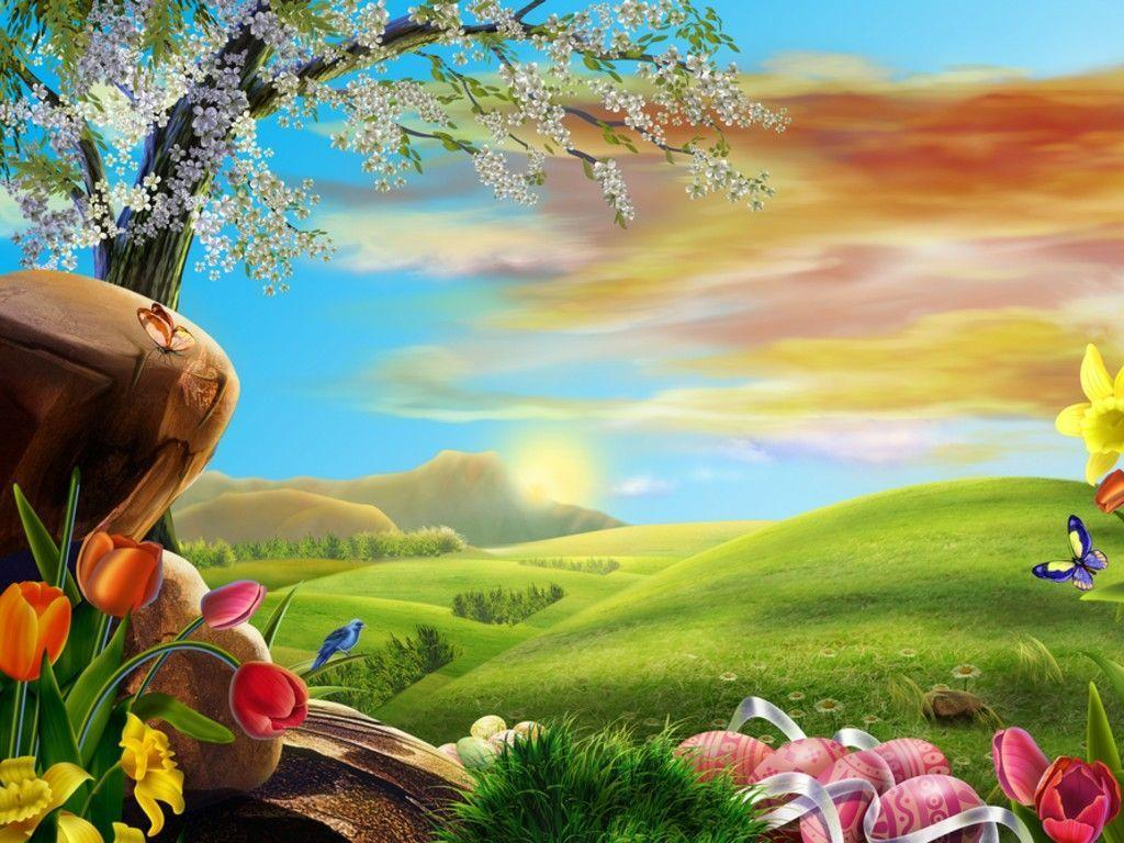 Anime Scenery for Easter Wallpapers – HD Wallpapers 16327