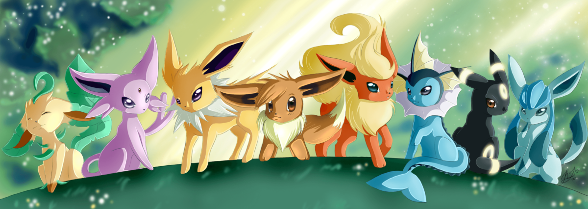 34 Eevee (Pokémon) HD Wallpapers | Background Images – Wallpaper Abyss