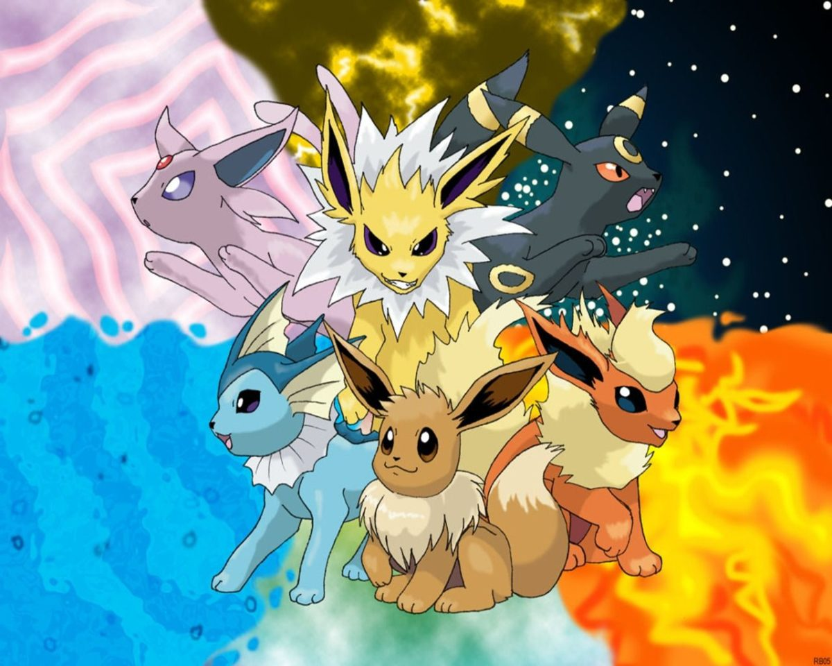 pokemon eevee 1280×1024 wallpaper High Quality Wallpapers,High …