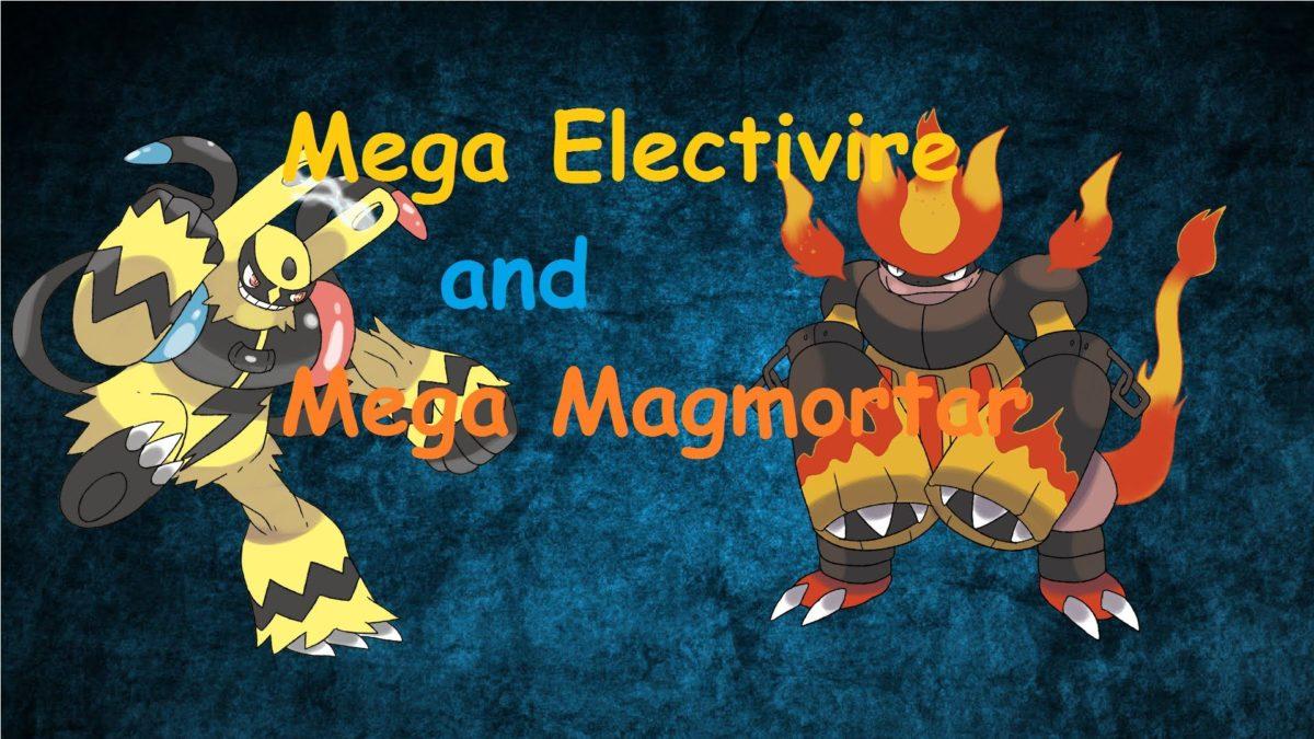Mega Electivire and Mega Magmortar – YouTube