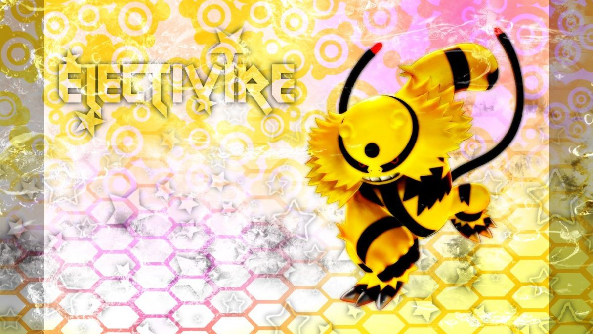 Electivire Widescreen 16:9 by applejackles on DeviantArt