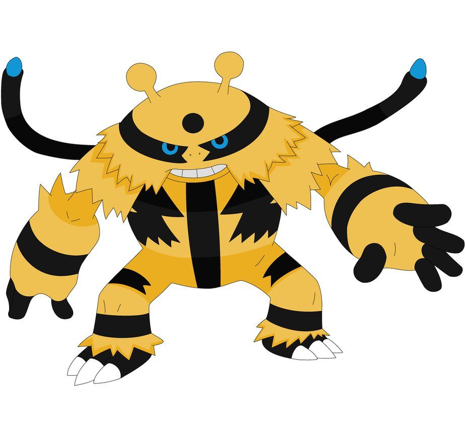 Rough the Shiny Electivire by kasanelover on DeviantArt