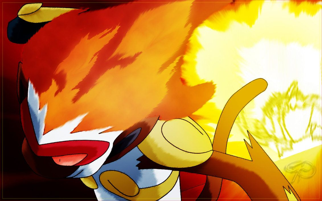 Ash' Infernape Flare Blitz by brignan on DeviantArt