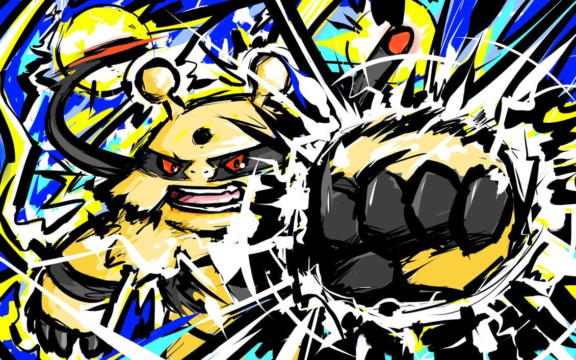 Electivire | Thunder Punch by ishmam on DeviantArt