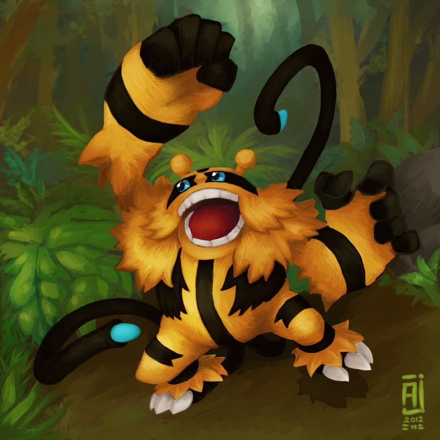 Shiny Electivire – Welcome to the Jungle by alpin-j on DeviantArt