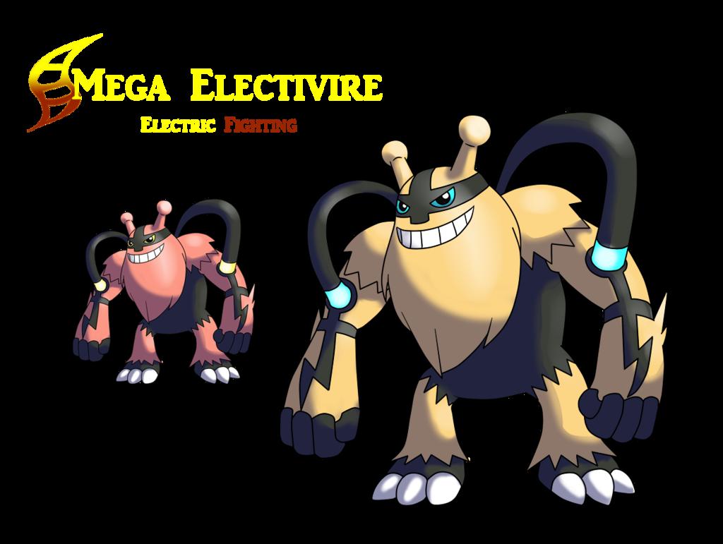 Mega Electivire by AlphaXXI on DeviantArt