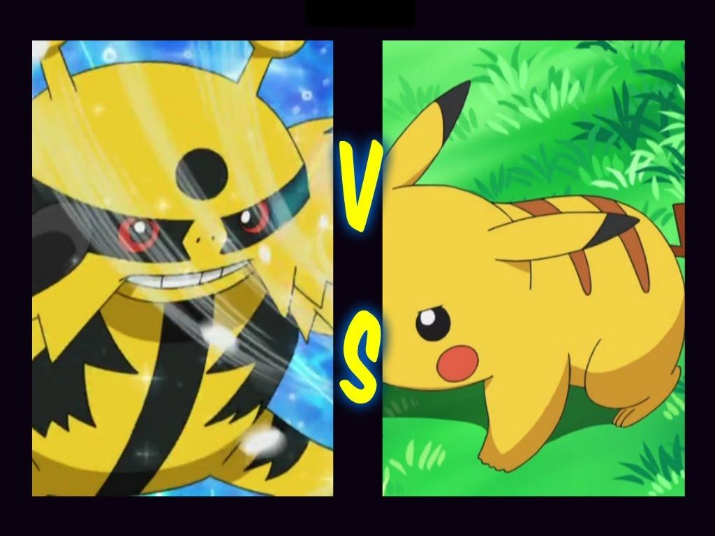 Pikachu vs Electivire – Una batalla loca en HD – YouTube