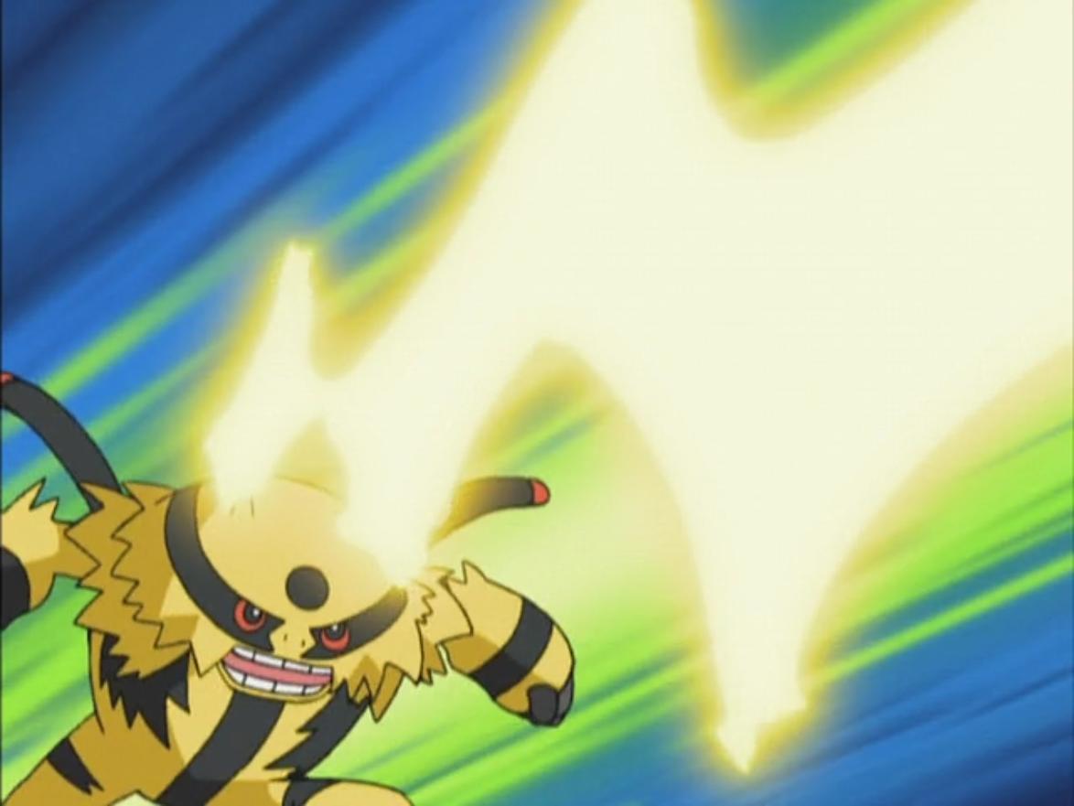 Image – Gary Electivire Thunderbolt.png | Pokémon Wiki | FANDOM …