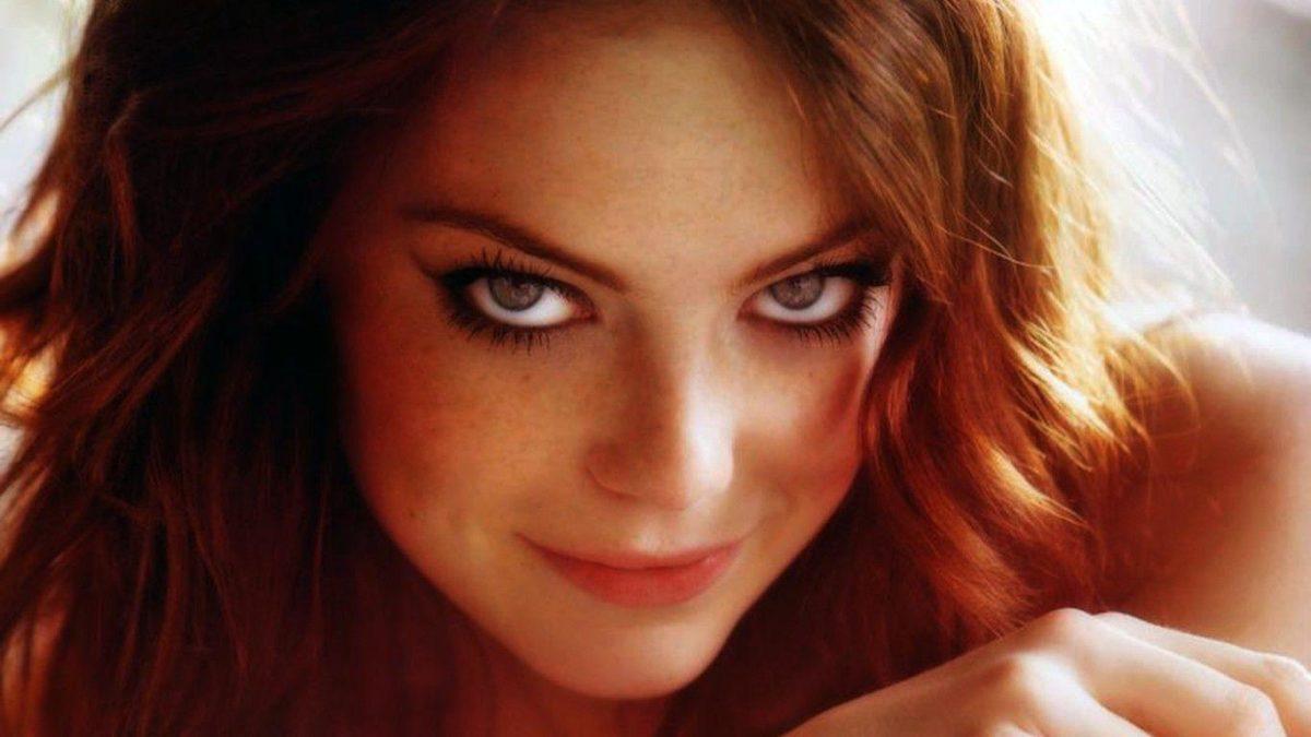 Emma Stone Wallpaper 1366×768 Beautiful Eyes #1369 Wallpaper …