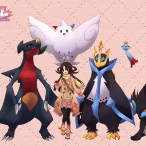 download Pokemon brown eyes brown hair chimecho empoleon garchomp houndoom …