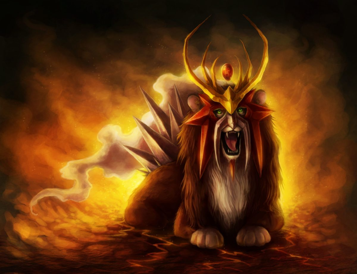 16 Entei (Pokémon) HD Wallpapers | Background Images – Wallpaper Abyss