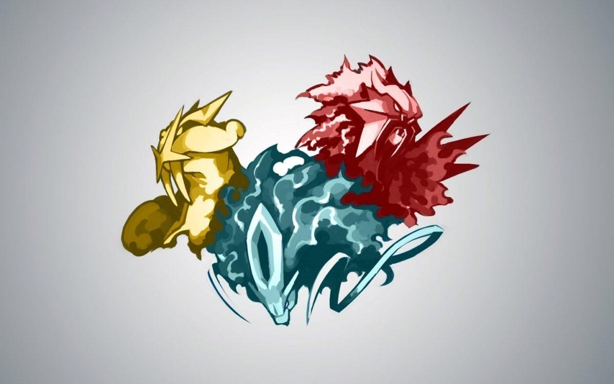 pokemon simple background entei suicune raikou High Quality …