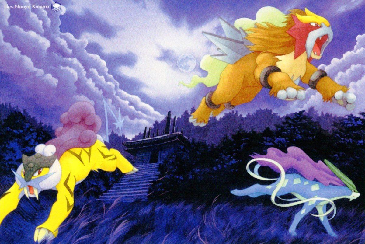 Entei, Suicune, Raikou, Pokémon HD Wallpapers / Desktop and Mobile …