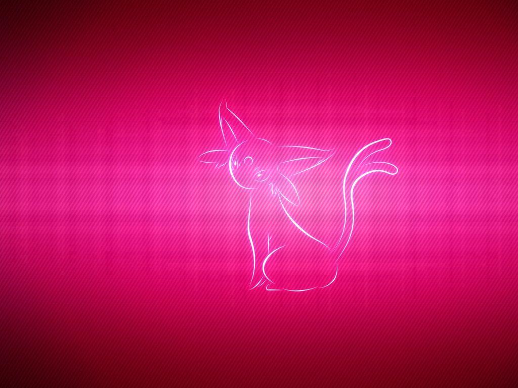 Download Wallpaper 1024×768 Espeon, Pokemon, Pink 1024×768 HD …