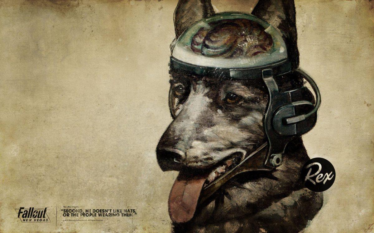 Rex The Dog Fallout Las Vegas Microsoft Game Wallpaper – 207 …