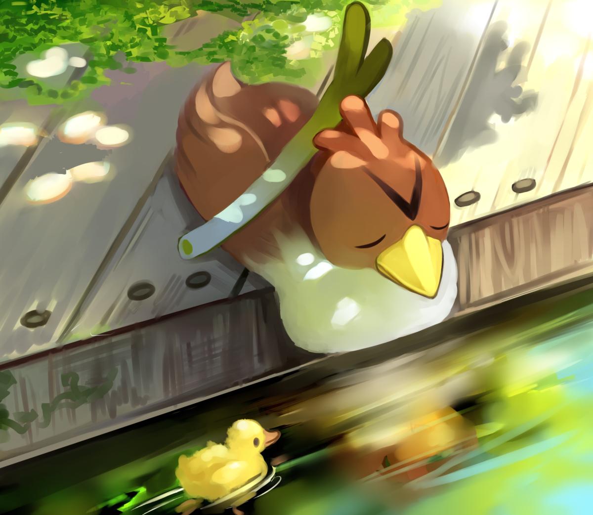 Farfetch'd – Pokémon – Image #2119671 – Zerochan Anime Image Board