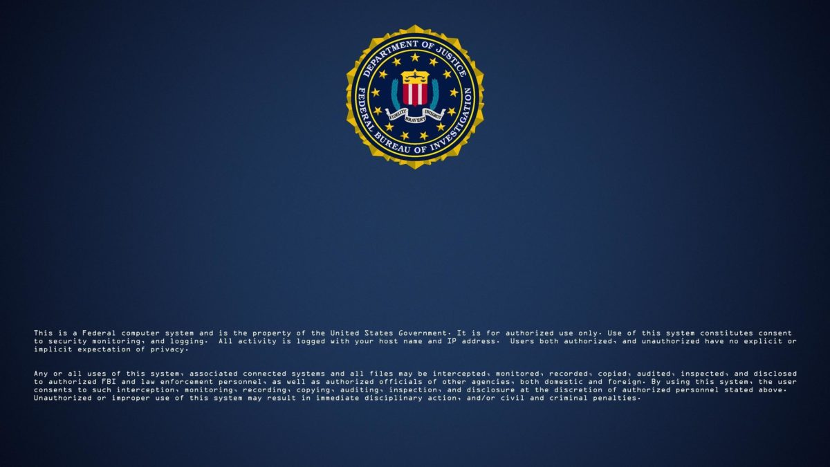 Logos For > Fbi Logon Screen Wallpaper