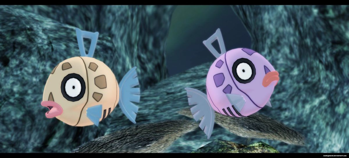 Pokemon MMD: Feebas by kaahgomedl on DeviantArt