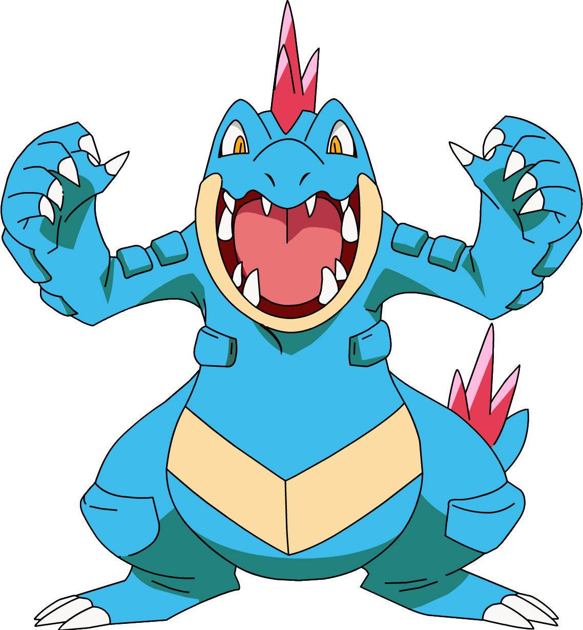 Image – 160Feraligatr OS anime 2.png | Pokémon Wiki | FANDOM …